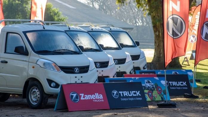 Los nuevos Zanella Truck cargan hasta 690 kilos.