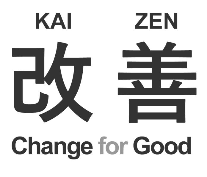 Kaizen, em método de Toyota.
