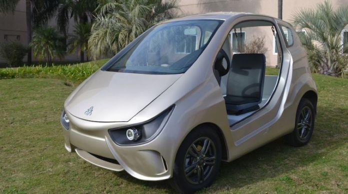 Volt, el auto eléctrico de fabricación cordobesa.