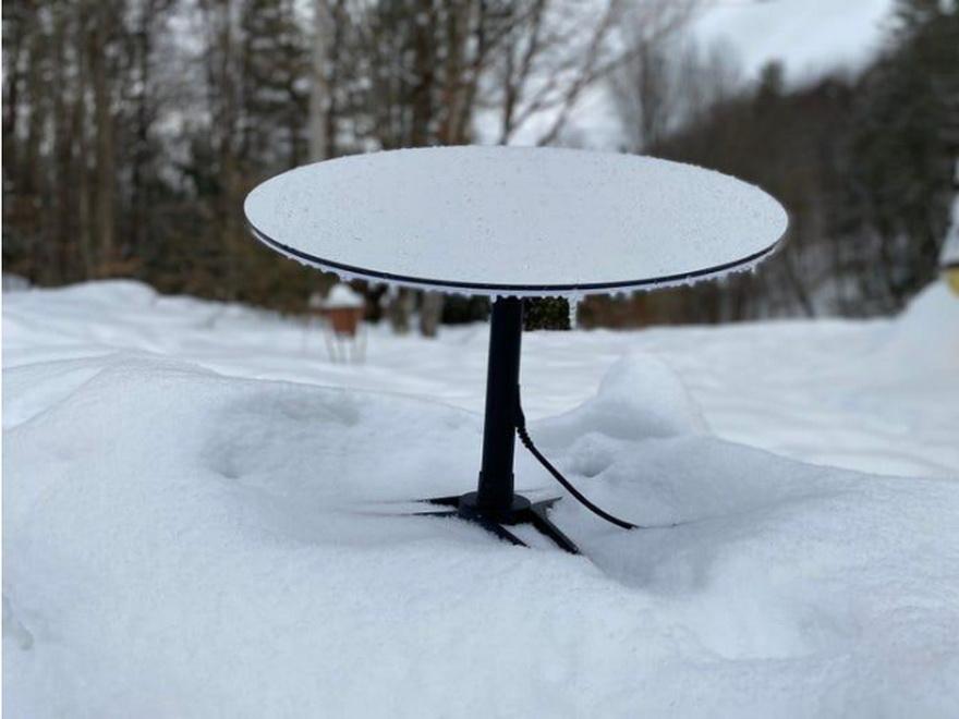 Starlink modo de derretimiento nieve