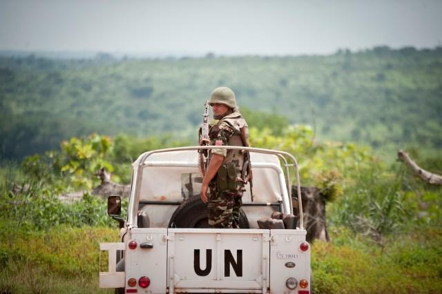 Peacekeeper in CAR