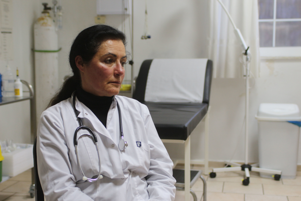 Dr Kalliopi Katte recalls helping firemen recover a badly decomposed body found in the shallows of Ikaria's north shore