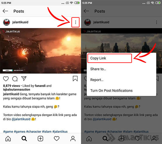 Cara Download Video Instagram Android 02 9adbe