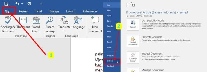 how to remove green lines in ms word 2007