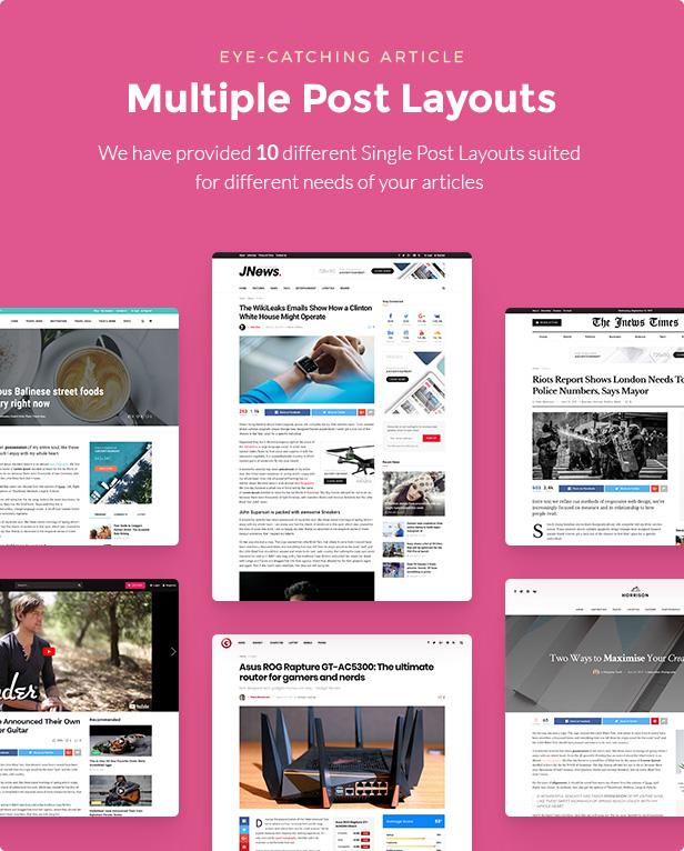 JNews - WordPress Newspaper Magazine Blog AMP Theme - 32