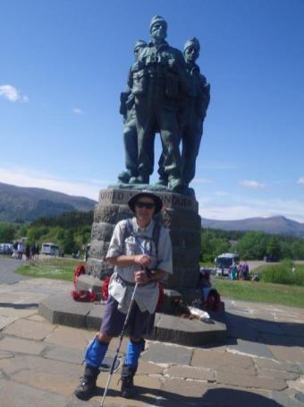 0612 Fort William to Spean Bridge 11 Commando Memorial
