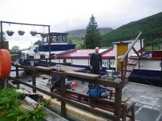0613 Spean Bridge to South Laggan 7 Eagle barge