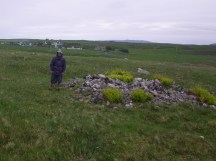 0624 10 Borralie clearance cairn