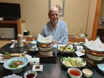 Kumano Kodo day 7-4 dinner