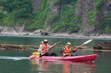 Yoichi - kayak departure 1
