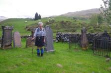 Crianlarich to Bridge of Orchy 4 St Fillian cemetry
