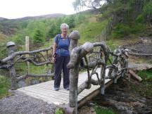 Invermoriston to Drumnadrochit 2 Troll bridge