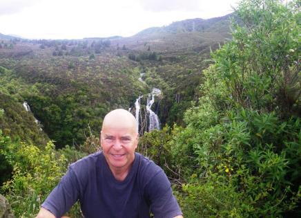 Opoto Falls between Taupo & Napier