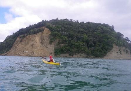 Waiwera Cliff