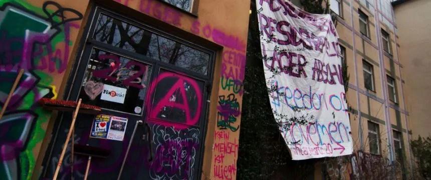 Besetzte Schule: Immer neue Forderungen Foto:  picture alliance/dpa