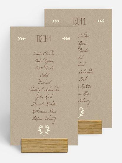 Tischkarten Zum Ausdrucken Tischkarten Vorlagen