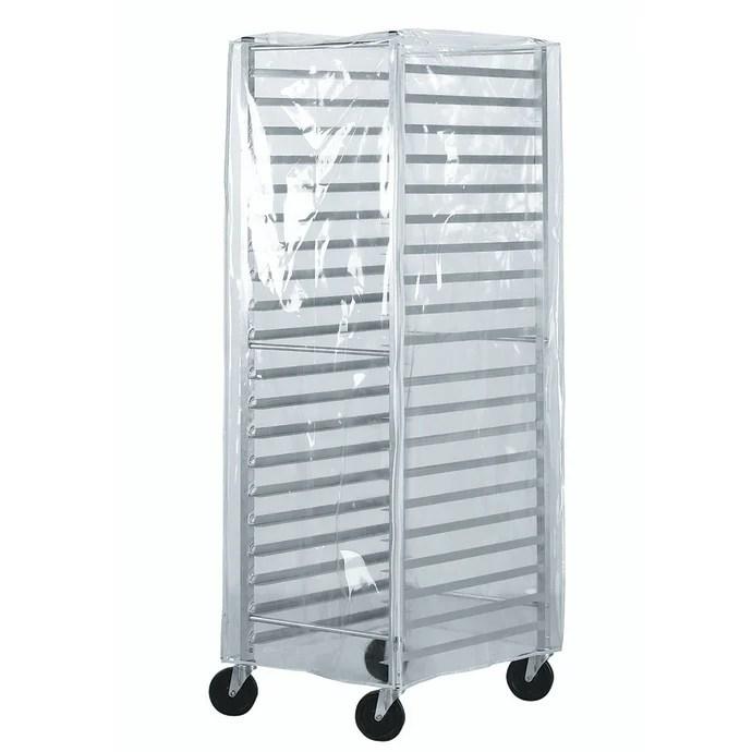 advance tabco prc 2 see thru economy rack cover plastic