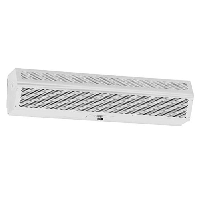 mars lpv236 1ua pw 99 014 36 unheated air curtain w auto switch low profile pearl white 115v