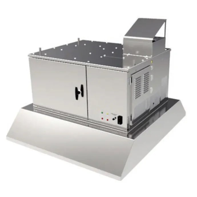 giles ovh 10 35 15 16 ventless hood for electric ovens w 3 stage filtration 208 240v 1ph