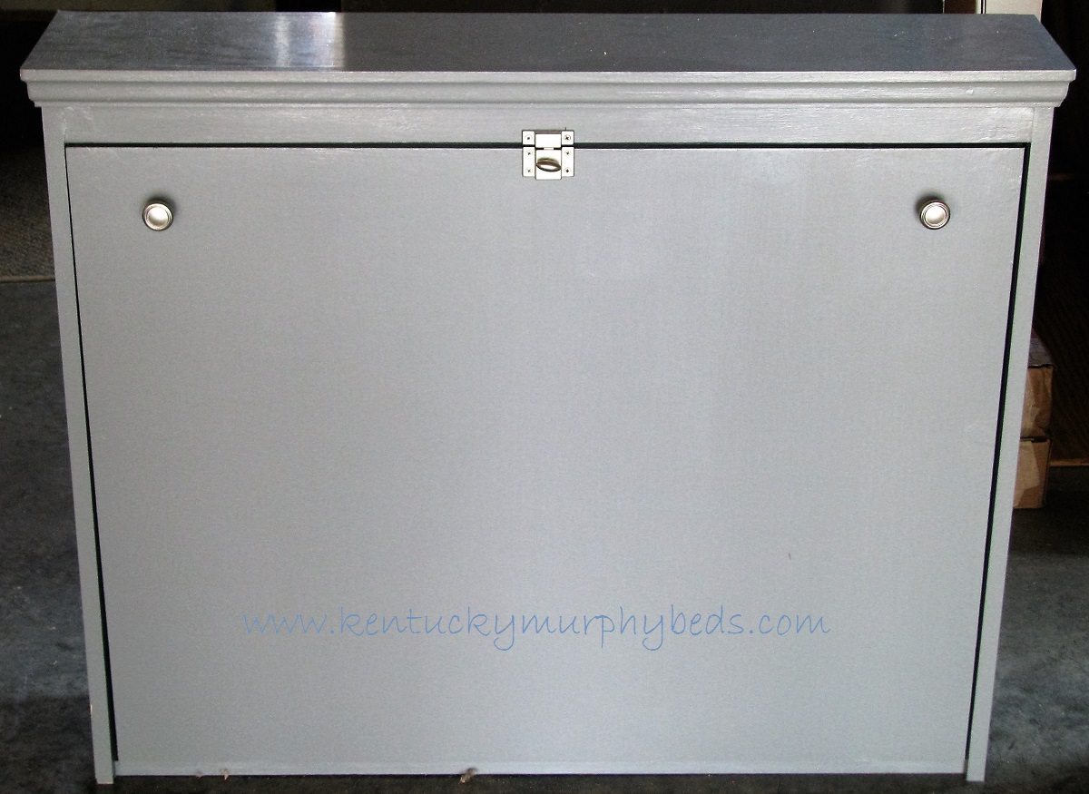 Large Murphy Dog Bed with Grey Painted Finish