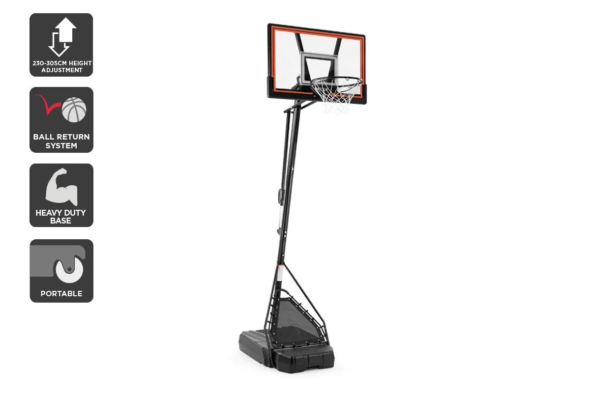 Fortis Premium Height Adjustable Basketball Hoop Stand Kogan Com