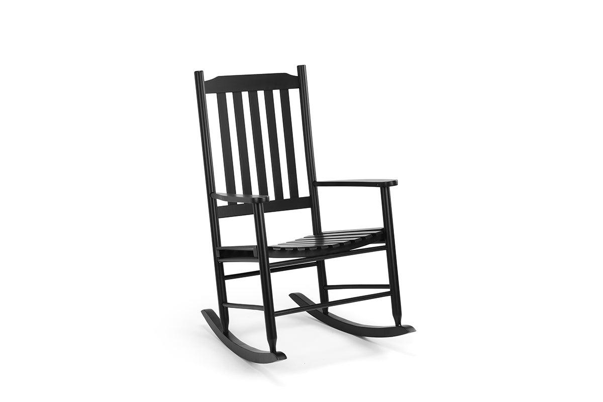 shangri la danby outdoor furniture rocking chair black