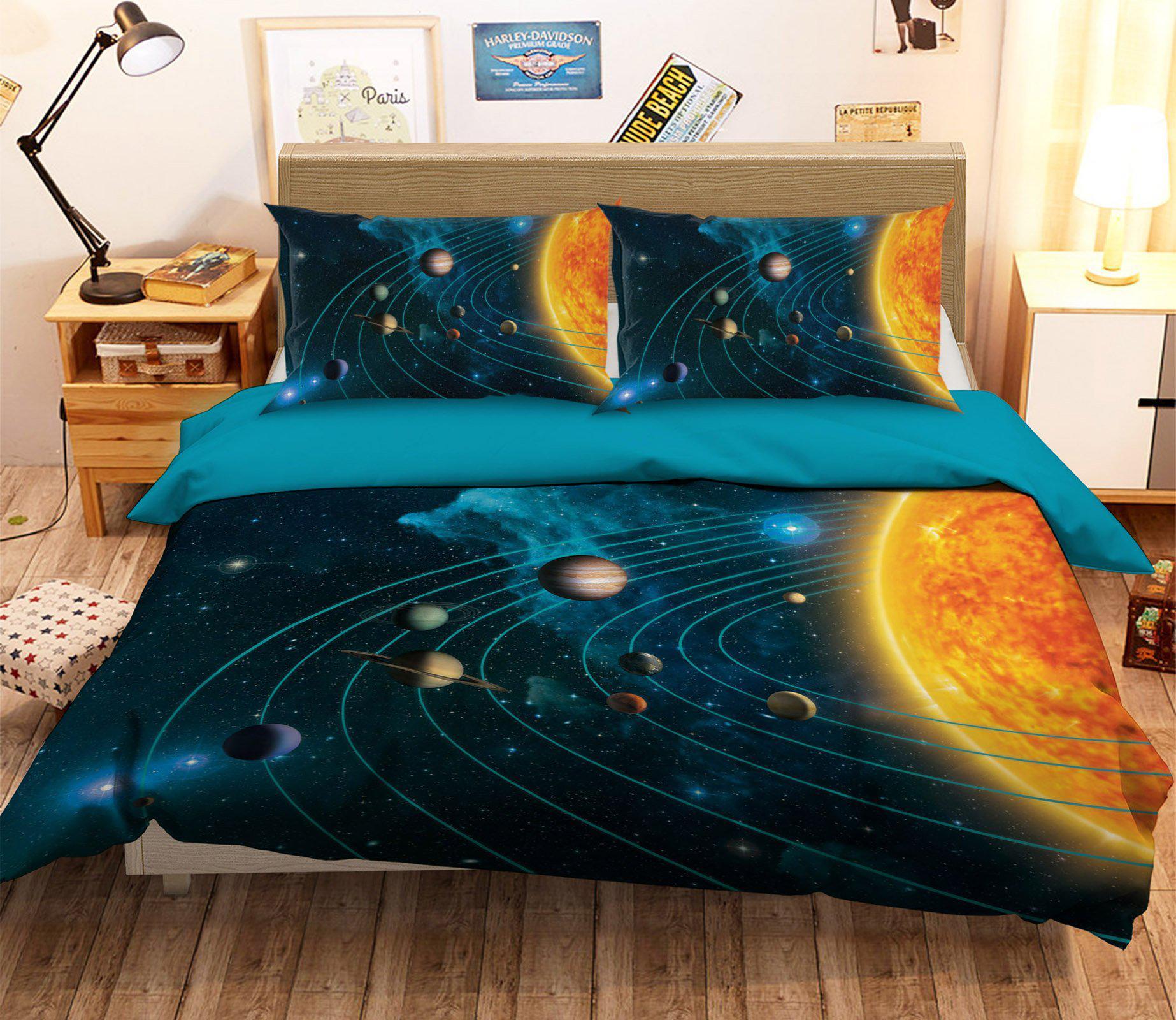 3d solar system 082 bed pillowcases quilt exclusive designer vincent duvet cover quilt cover bedding set quilt cover quilt duvet cover king single