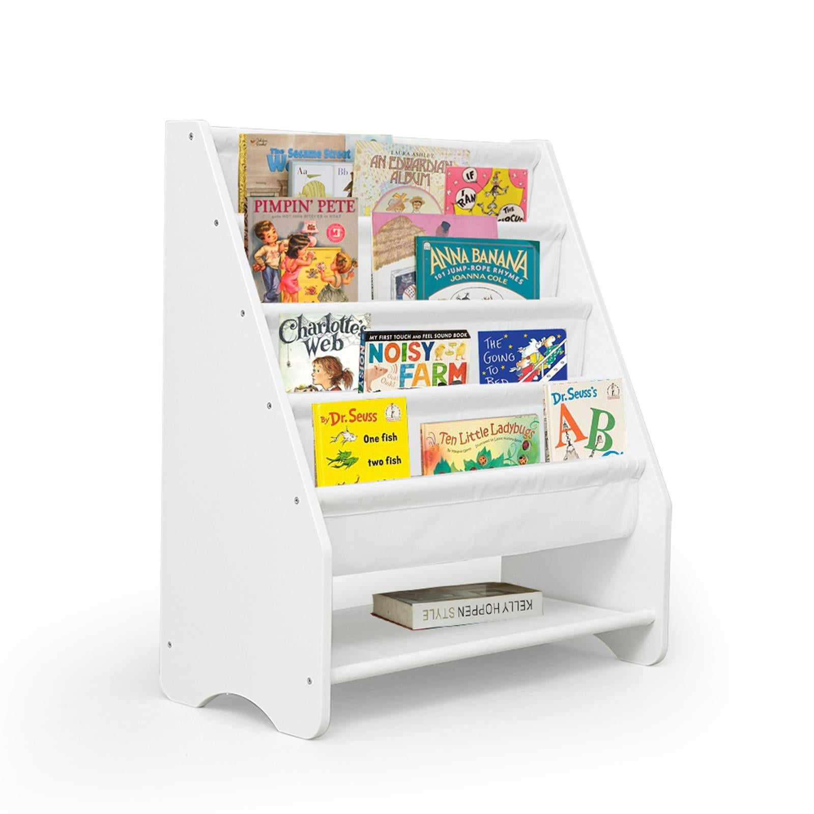 kids bookshelf bookcase children book shelf magazine rack storage organiser wth