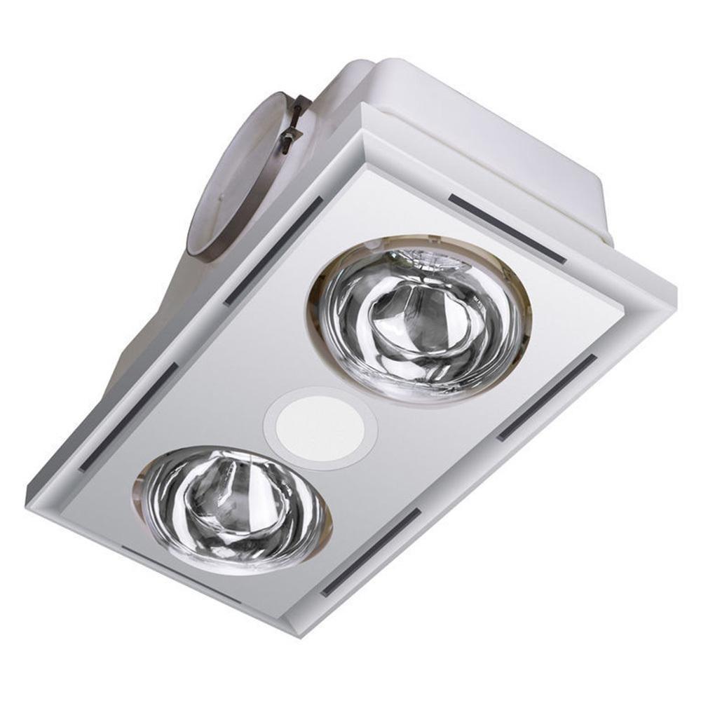 https www kogan com au buy heller 3 in 1 ceiling bathroom exhaust wled lightduct kit heater globes white hbh2w