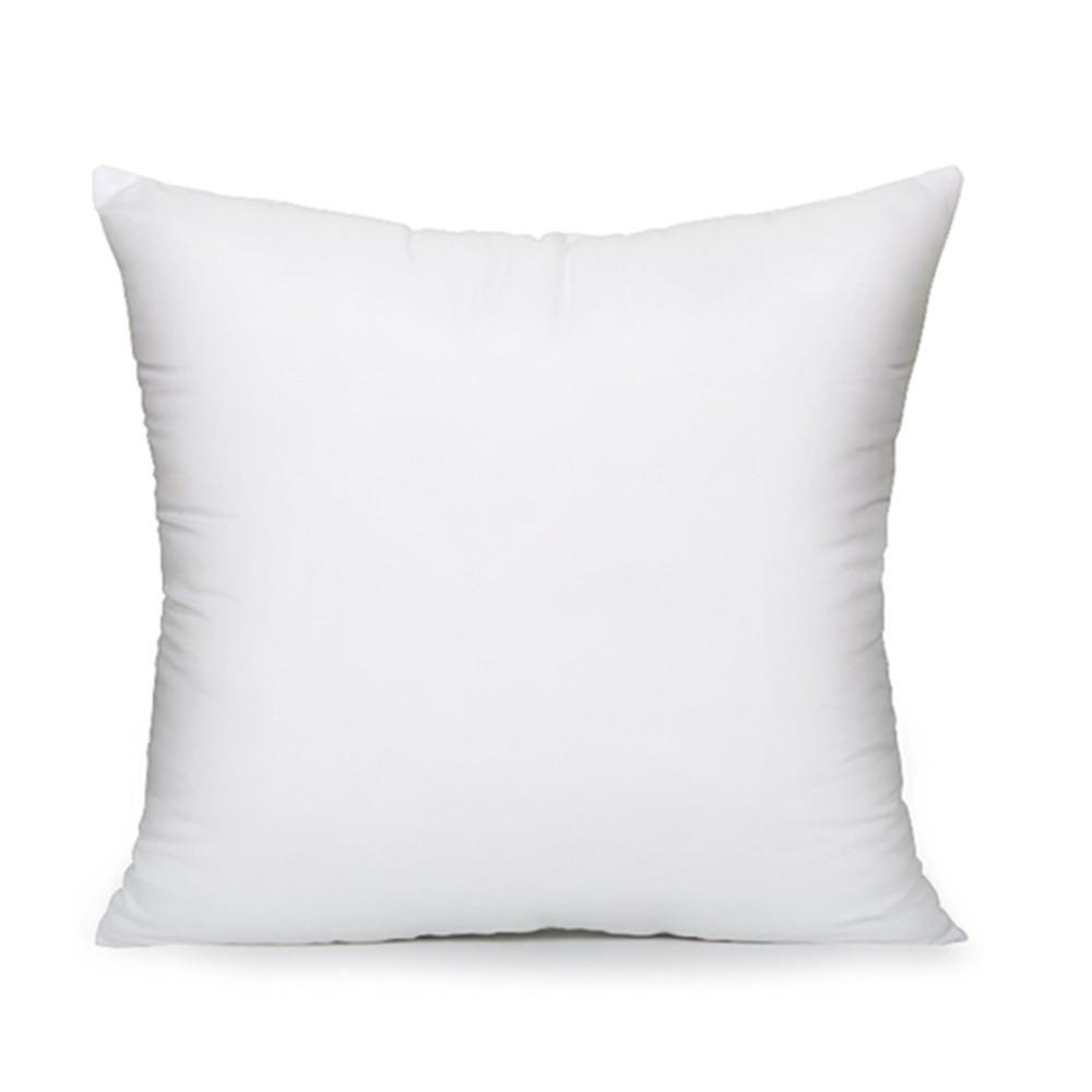 poly white sham square pillow inserts 65 65cm