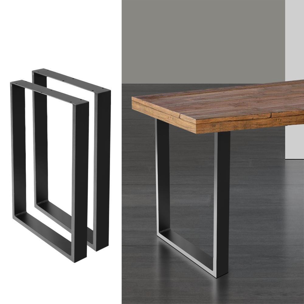 artiss table legs dining table coffee table metal table legs 50cm l x 71cm h tables