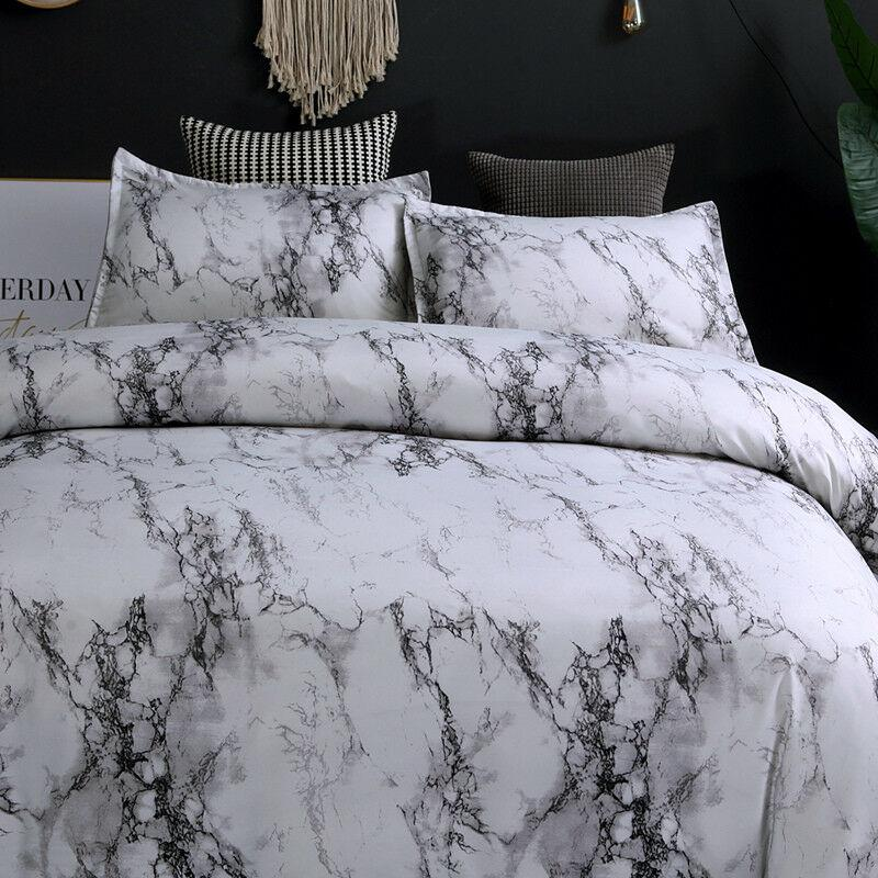 marble grey quilt cover set queen quilt cover sets