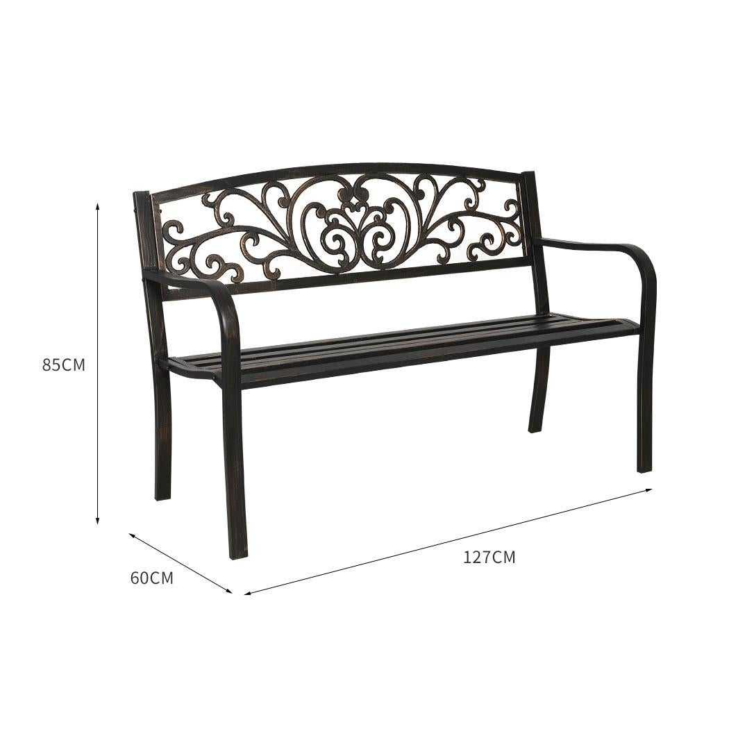 levede garden bench seat outdoor furniture cast iron patio benches lounge chair