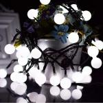 5m 50led String Lights Battery Powered Ball Christmas String Lights For Indoor Bedroom Wedding Xmas Party Holiday Decoration White Kogan Com