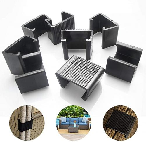 large outdoor patio wicker furniture clips blasoul 8pcs sectional sofa rattan furniture clips chair fasteners connect the sectional or module