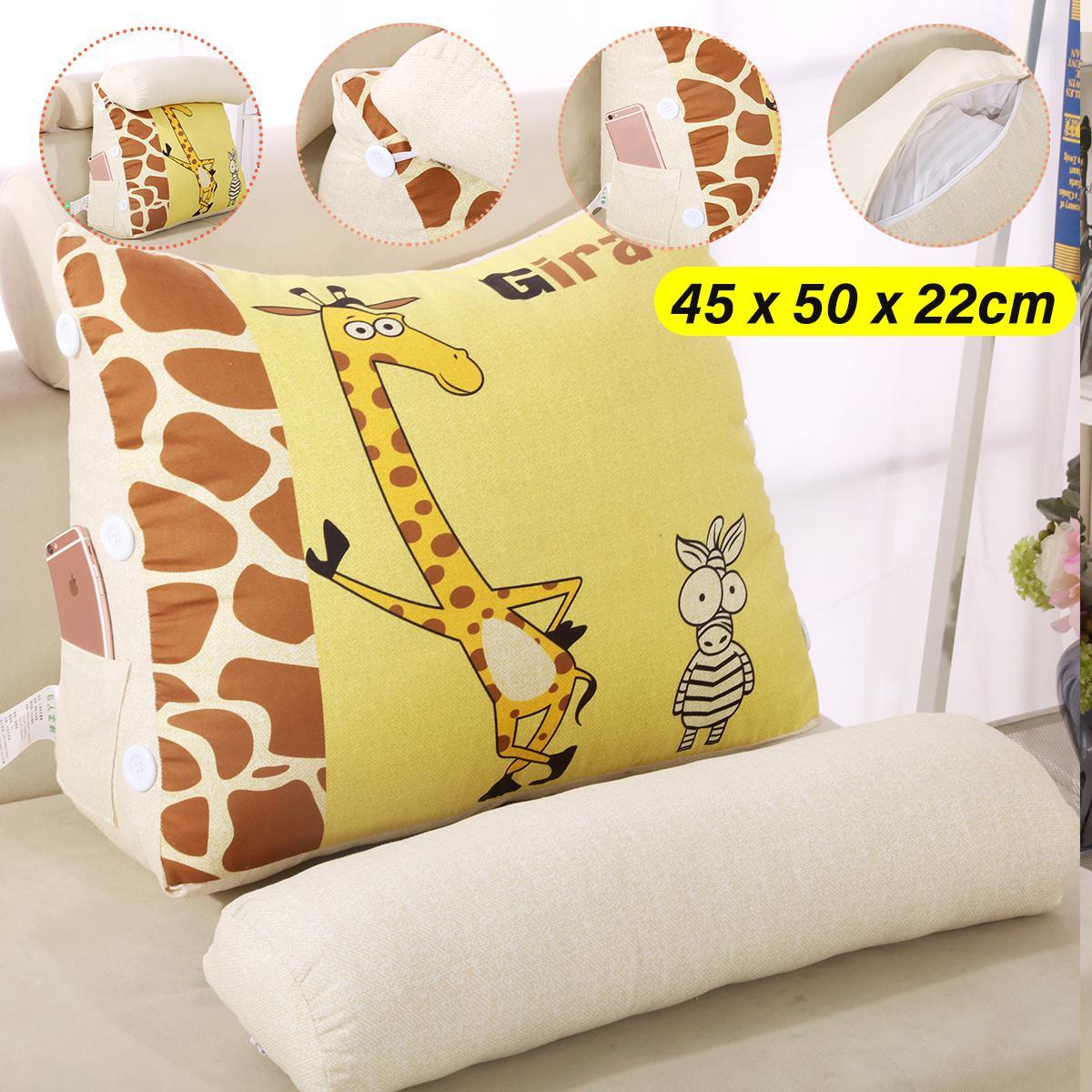45cm 60cm Wedge Back Pillow Rest Sleep Neck Home Sofa Bed Lumbar Office Cushion 45cm Style A Matt Blatt