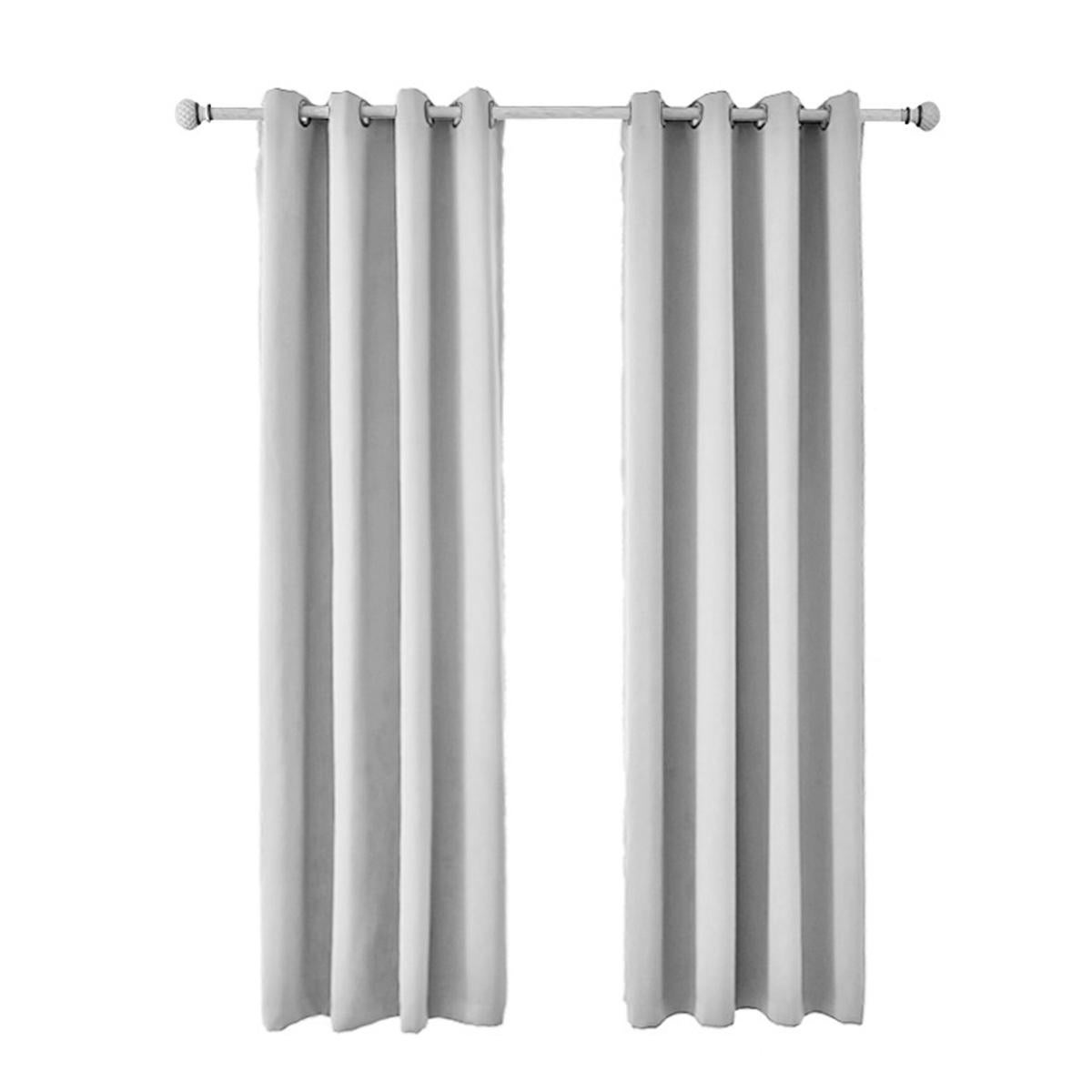 outdoor blackout curtains patio uv protection waterproof curtains shower curtain not including rod lightgrey 132x213 inchs