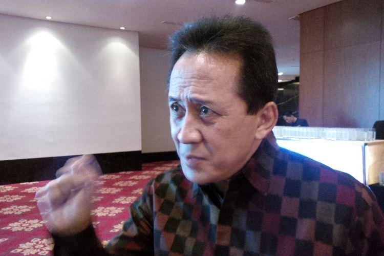 Kepala Badan Ekonomi Kreatif (Bekraf) Indonesia Triawan Munaf saat ditemui di Hotel Ritz Carlton, Jakarta, Kamis (28/9/2017).