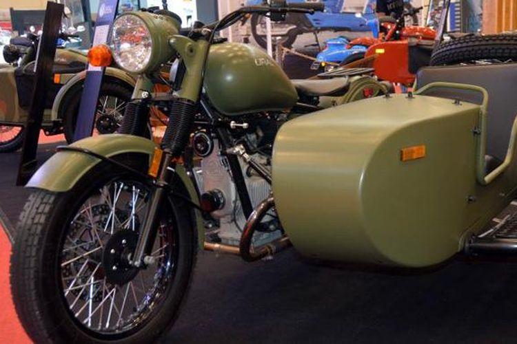 Ural Motorcycle menjadi daya tarik tersendiri di GIIAS 2016.