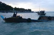 Dihantam Gelombang, Kapal Tenggelam di Perairan Lingga, 3 Hilang