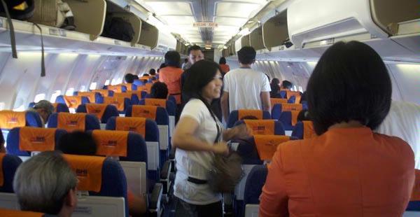 Penumpang pesawat Batavia Air.