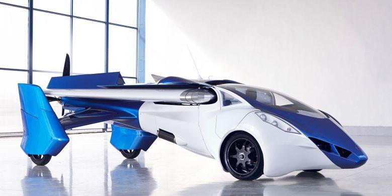 Desain AeroMobil yang menyerupai pesawat tempur ( Dok Forbes)