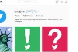 Twitter Buka Akun Resmi di Instagram