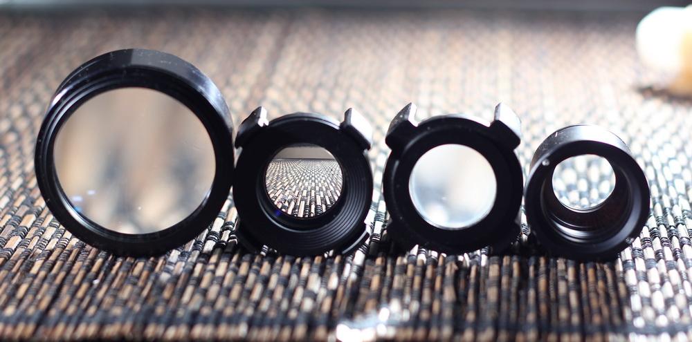 Tampak Depan Elemen Lensa