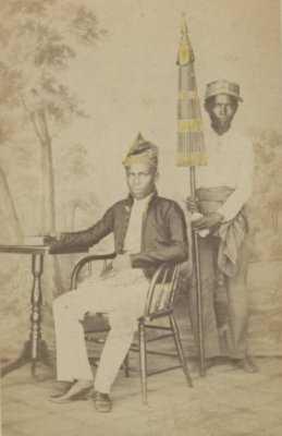 Kiai Wira negara (loerah Andin Assin,, Kiai Van Barabai, Fhoto 1880, sumber KTILV Belanda