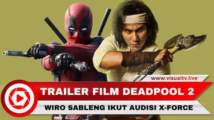 deadpool 2 x force