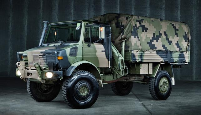 Unimog kendaraan militer