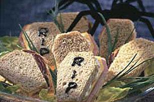 coffin sandwich gothic tea party