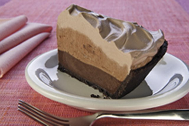 Heavenly Chocolate Layer Pie Kraft Recipes