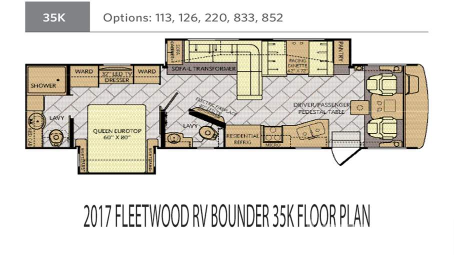 2017 Fleetwood RV Bounder 35K For Sale In Tampa, FL